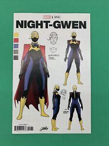 Heroes Reborn Night Gwen #1 MARVEL 1:10 Garron Design Variant Marvel 2021