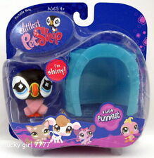 2008 NIB Littlest Pet Shop Funniest PUFFIN BIRD #654 US Seller FREE SHIPPING