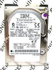 IBM 20GB TravelStar DJSA-220 IDE 07N5662 Laptop F80432 Hard Drive WIPED & TESTED