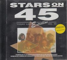Stars On 45 Homenaje a Los Beatles ABBA  CD New Sealed