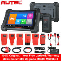 Autel MK908 MS906BT OBD2 Diagnostic Scanners Tool ECU Coding Upgrade MS906 DS808