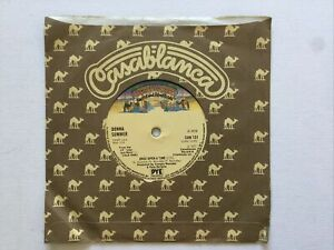 """Donna Summer Macathur Park / Once Upon a Time:  7"""" Vinyl Single 45rpm."""