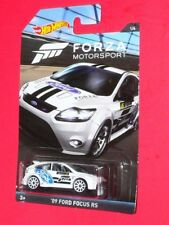 2017 Hot Wheels  '09 Ford Focus RS  #1  DWF31-0910  FORZA MOTORSPORT