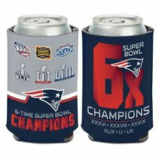 New England Patriots Super Bowl Champions Can Cooler