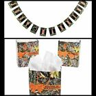 Camouflage Wedding Gift Bags (1 Dozen) And Just Married Banner Deer Doe Country