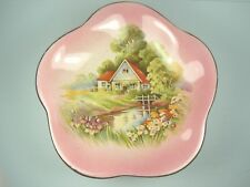Compote Dish Royal Winton Grimwades Red Roof Cottage Red Vintage