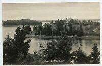 Chester Nova Scotia Canada Vintage Photo Postcard
