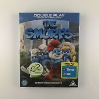 The Smurfs (Blu-ray and DVD Combo, 2011, 2-Disc Set) *New & Sealed*