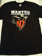 New Jersey Outlaws LG T Shirt 2011 FHL wanted dead alive Federal Hockey League