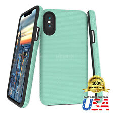 Dual Guard Protective Shock-Absorbing Scratch-Resistant case cover Fit iPhone