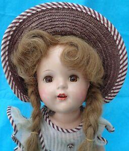Vintage        Nancy Mint Compo Book Doll Judds All Original Arranbee