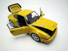 Welly 1992 Porsche 964 Turbo / 965 Yellow Color 1/18 Scale. New Release!