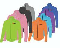 Cycling Jacket Highly Visible HI VIZ Windproof Showerproof Breathable Walking