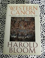 Western Canon by Harold Bloom SIGNED Yale University Stated 1st Edition 1 Ptg
