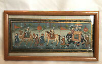 Rajasthani Painting On Silk Hand Painted Art Indian