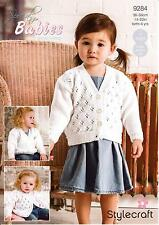 Stylecraft Special for Babies DK Pattern 9284 (3 Designs)