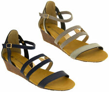 Strappy, Ankle Straps Standard (B) Casual Heels for Women