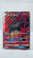 Rare Pokemon TCG Card Sun & Moon PROMO Incineroar GX Full Art SM38 OVERSIZED