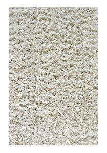 Shag Rug Modern Polyester Blend High Thick Pile 5' x 8'
