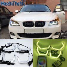 WIFI RGB M4 Style Angel Eye for BMW E60 5 Series XENON Pre LCI and LCI