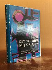 KEY TO THE MISSAL By Cornelius Bouman and Mary Perkins Ryan - 1960 Catholic