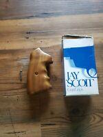 Jay Scott Smith and Wesson, S&W N Frame Gunfighter Oversized Walnut Grip 38/44
