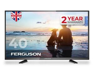 "FERGUSON 40"" INCH FULL HD LED TV FREEVIEW HD, 3 x HDMI & USB. BRAND NEW UK MADE"
