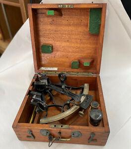 Heath & Co Sextant In Original Box w/ Key