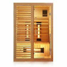 Infrarotkabine Infrarotsauna Wärmekabine 2 Personen Sauna Kabine Vollspektrum