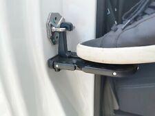 Car Door Latch Step Pedal Wheel Chock Ladder Emergency Belt Cutter Window Hammer