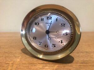 Stunning Small Swiza Alarm Clock - Perfect Working Condition