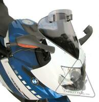 MRA VarioTouringScreen Windshield For BMW K1200S/K1300S - Smoke Grey