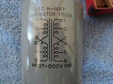 Utc H-1667 Varimatch Transformer Unused In Original Box With Paperwork