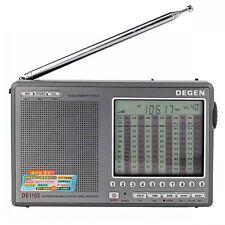 DEGEN DE1103 DSP Radio FM SW MW LW SSB Digital World Receiver&External Antenna