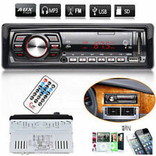 Auto Car Stereo Audio In-Dash FM Aux Input Receiver SD USB MP3 Player WMA Radio