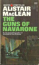 THE GUNS OF NAVARONE Alistair MacLean - NOVEL - WORLD WAR II COMMANDOS VS NAZIS