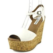Sandalias y chanclas de mujer Steve Madden color principal blanco sintético