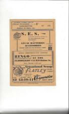 Southport v Darlington 1962/63 Football Programme