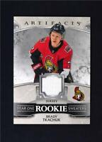 2019-20 UD Artifacts Year One Rookie Sweaters Relic #RS-BT Brady Tkachuk