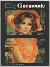 KING CINEMONDE #8/1969 terry martine tamara baroni catherine spaak rosalba neri