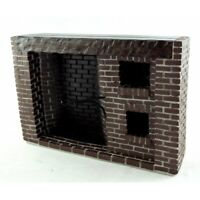 1/12 Dolls House Tudor Style Red Brick Colonial Walk-in Fireplace YM0244