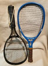 Leach Lady Swinger & Graphite-Performer Racquetball Racquets Vintage 70s-80s