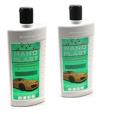 2 X 500 ml (€12,5/L) Nano Plast - Autopolitur - Auto Politur - Versiegelung