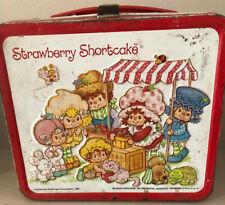1981 Aladdin Strawberry Shortcake Tin Lunch Box