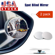 360° Adjustable Blind Spot Mirror Car Trunk Spot side Mirror Mini 2 Pack