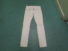 "Moto Skinny Jeans Waist 28"" Leg 31"" faded White Ladies Jeans"