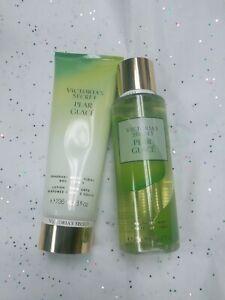 Victoria's Secret 🍐PEAR GLACE Classic Fragrance Mist Spray & Body Lotion set