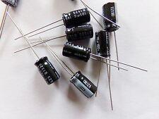 lotto di 10 condensatori chimici elettrolitico 10uf 100v NICHICON