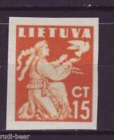 Litauen Nr.  439  U ** Frieden   ungezähnt