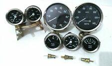 Smiths Gauge Kit Temp+ Oil TEMP + Fuel+ Volt+Oil +Speedometer +Tacho Replica BC